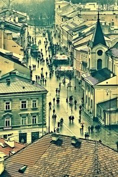 Lublin, Poland. Study abroad here on our Poland: Polish Language and Culture program. Running July 6- August 11, 2014. Application deadline is March 15th. Apply on line by visiting us at studyabroad.uwm.edu.