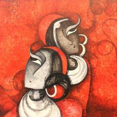 """Explore our web site for additional relevant information on """"buy art artworks"""". It is an outstanding place for more information. Back Painting, Mural Painting, Painting & Drawing, Indian Contemporary Art, Modern Art, Indian Art Paintings, Indian Artwork, Indian Folk Art, Buddha Art"""