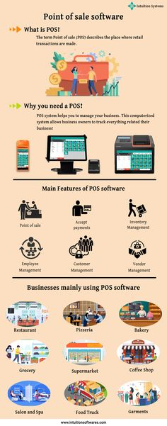 A point of sale system is the place where your customer makes a payment for product or services at your store. It is a combination of hardware and software that enables your business sales more efficiently. Spa Food, Business Sales, Point Of Sale, Pos, Software, Coffee Shop, Management, Hardware, Store