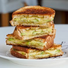 Take your grilled #cheese to the next level with the addition of #avocado #glutenfree