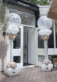 Op Trouwgeheimen vindt je nu de leukste ideeën voor #ballonnen decoraties op jullie #bruiloft. Lees snel verder en laat je inspireren!