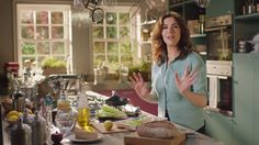 Simply Nigella - Episode 3 Simply Nigella - Episode 3 Packed with new recipes and tips designed to make our busy lives easier, Simply Nigella proves that whatever the occasion, food, in the eating . Kitchen Pantry, New Kitchen, Kitchen Ideas, Simply Nigella, Nigella Lawson, Home Board, Cook At Home, Green Kitchen, Design Consultant