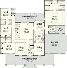 Image Result For 4 Bedroom House Plans South Africa House Plans One Story 4 Bedroom House Plans Bedroom House Plans