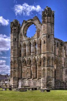 Elgin Cathedral, Scotland