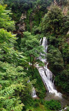 Waterfall - Villa Gregoriana, Tivoli, Lazio, Italy
