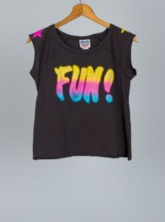 Kids Girls Fun! Muscle Tank