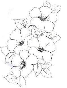 dibujos de flores y frutas para pintar en tela - Buscar con Google