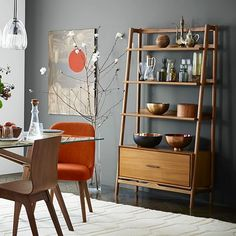 Mid-Century Bookshelf - Tall Wide #westelm