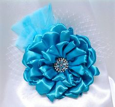 Embellishment, Floral, Turquoise, Cottage Chic, Dahlia, Peony, Millinery, Fascinators, Fashion, Hair, Scrap Booking, Bridal, Corsage, Decor - pinned by pin4etsy.com Dahlia, Peony, Turquoise Cottage, November 2015, Fashion Hair, Fascinators, Cottage Chic, Corsage, Headbands