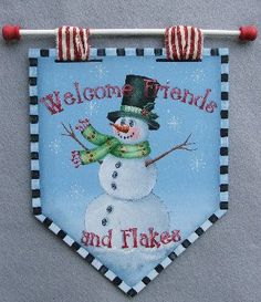 *SNOWMAN...Just Fine Designs Painting Patterns by Sandy LeFlore