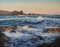 Waves Study 2 Painting - Waves Study 2 Fine Art Print $22