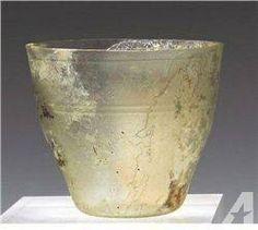 quartz roman drinking vessels | 375A Roman Glass Beaker / Goblet for sale in Erie, Colorado