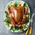 Sage-Butter Roasted Turkey - Carrie Morey for Country Living.