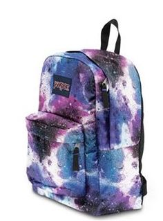 JanSport SuperBreak Spray Can Backpack- Jansport has really come a long ways! Wish they had this one 20 years ago! Michael Kors Handbags Sale, Mk Handbags, Michael Kors Outlet, Cheap Backpacks, Cute Backpacks, School Backpacks, Sac Jansport, Back To School Fashion, Mk Bags