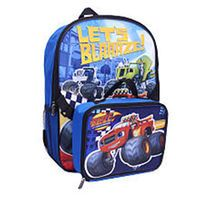 Blaze and the Monster Machines 16 in Backpack with Lunch Pack
