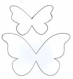 Risultati immagini per molde convite borboleta Bow Template, Butterfly Template, Butterfly Crafts, Flower Template, Applique Templates, Flower Crafts, Paper Butterflies, Giant Paper Flowers, Felt Flowers