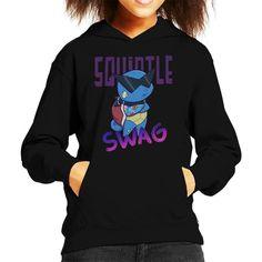 6b10c7948 Pokemon Squirtle Swag Kid's Hooded Sweatshirt by Susto - Cloud City 7 Cloud  City, Kid
