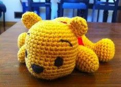 Free Pooh Bear crochet pattern by Beth Young