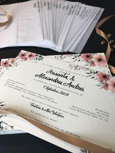 #invitatiiselect #invitatii #nunta #invitatiidenunta #nuntadevis #invitatiipersonalizate #wedding #weddinginspiration #weddinginvitation #customcard #weddingstationery #envelope #peony #card #greenery #floral #floralart #lovelyprint #handmade #beautiful #minimal #stationery #invites #weddingcards #elegantwedding #envelopedesign Wedding Stationery, Wedding Invitations, Envelope Design, Custom Cards, Peony, Elegant Wedding, Nasa, Invites, Wedding Cards