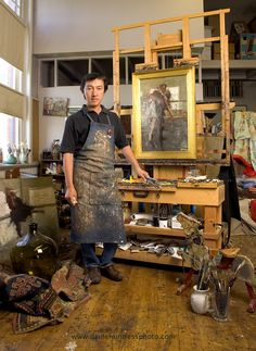 Quang Ho is a Denver based artist. His DVDs are available on his site… Artist Life, Artist Art, Artist At Work, My Art Studio, Dream Studio, Famous Artists, Great Artists, Carpe Diem, Atelier Creation