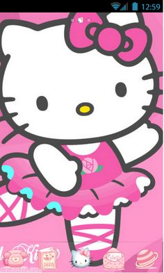 MasCrayon World's: HELLOKITTY Theme for Android