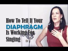 How To Tell If Your Diaphragm Is Working Properly For Singing - Singer's Secret
