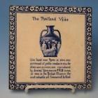 """Wedgwood China """"The Portland Vase"""" Blue & White Ceramic Porcelain Tile"""