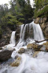 Wandern - Bayrische Voralpen - Farchant - Kuhfluchtwasserfälle - Beschreibung