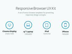 Freebie: Responsive Browser Vector Kit