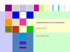 Laboratório de Cor e Composição  Sandro Leite