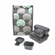 Aladdin Stackable Lunch Set - sweet! everything fits :)