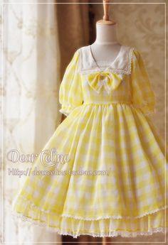 Dear Celine Fruit Candy one piece dress Moda Lolita, Lolita Mode, Pretty Outfits, Pretty Dresses, Beautiful Dresses, Kawaii Dress, Kawaii Clothes, Kawaii Fashion, Cute Fashion