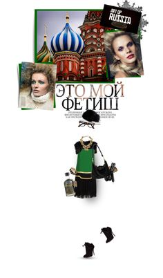 """Russian Balla"" by maude-lebowski on Polyvore"