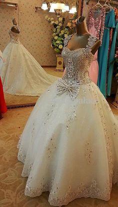 Wedding Gown, Elegant Bridal Gown, Luxury Wedding Dress Unique Wedding Dress  So Amazingly Beautiful!!    Simply Beautiful!