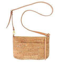 Handmade Cork Dash Gold Crossbody Purse with Detachable Strap by Spicer Bags Gold Handbags, Handbags On Sale, Luxury Handbags, Purses And Handbags, Handmade Handbags, Handmade Jewelry, Textiles, Cork Purse, Brighton Handbags