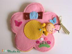 Maja méhecske virágkuckója- játszókönyvecske, Baba-mama-gyerek, Játék, Készségfejlesztő játék, Plüssállat, rongyjáték, Meska