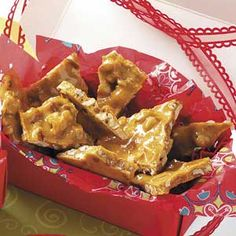 Spiced Nut Brittle