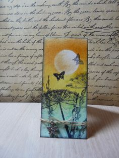 Scrapling with pan pastel and art journey stamps
