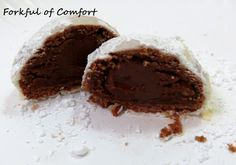 Forkful of Comfort: Chocolate Snowball Cookies