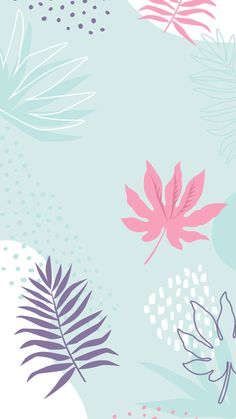 64 Super Ideas For Flowers Wallpaper Iphone Backgrounds Spring Phone Wallpapers Wallpaper Pastel, Pastel Background Wallpapers, Blue Floral Wallpaper, Blue Wallpaper Iphone, Pretty Wallpapers, Blue Wallpapers, Trendy Wallpaper, New Wallpaper, Lock Screen Wallpaper
