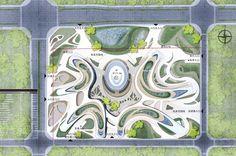 总图色调 #landscapearchitectureplan