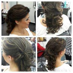 #hair #cabello #upDo #peinado #mediaCola #hairdresser #hairstylist #estilista #peluquero #panama #pty