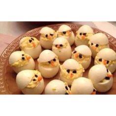 Deviled chicken eggs