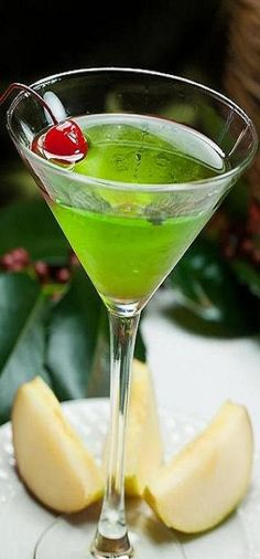 Green Appletini ♥ | KeepSmiling | BeStayBeautiful More