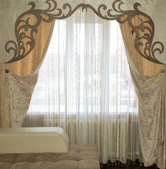 изготовлению ажурных ламбрекенов. - Google Search Valance Curtains, Luxury, Baths, Home Decor, Google, Cornice Boards, Cornices, Window Frames, Windows Decor