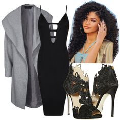 Go out by mariamakbbh on Polyvore featuring polyvore, fashion, style, Posh Girl, ONLY and La Perla