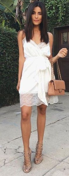 #summer #warm #weather #outfit #ideas | Little Romantic Dress