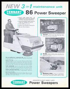 Barredora Tennant modelo 86