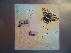 Just Bee - mini canvas bees