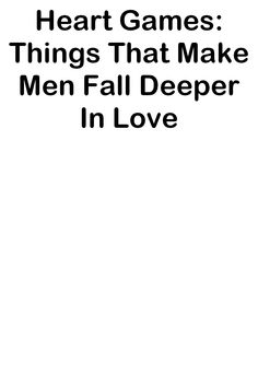 He tries to get to know her on a deeper level so that the attraction... #datingtips Perfect Boyfriend, The Heart Of Man, Dating Tips, Knowing You, Attraction, How To Get, Deep, Love, Amor